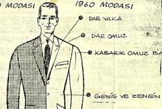 1960 erkek modasında ne var?
