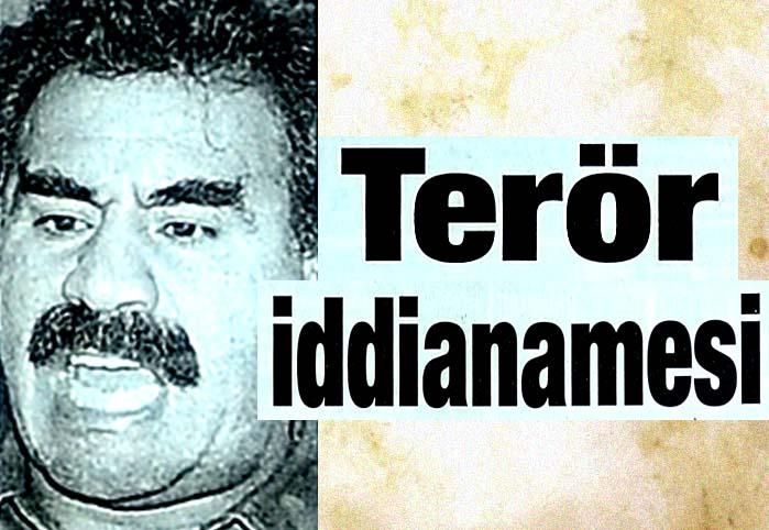 Terör iddianamesi