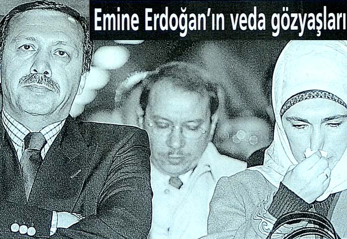 Emine Erdoğan'ın veda gözyaşları