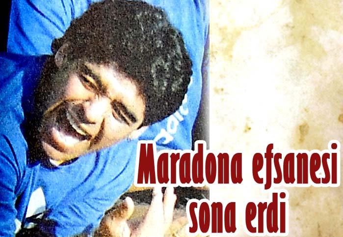 Maradona efsanesi sona erdi