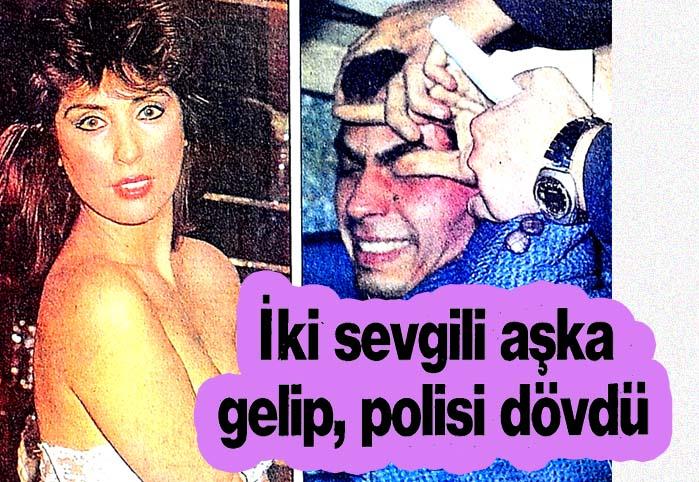 İki sevgili aşka gelip, polisi dövdü