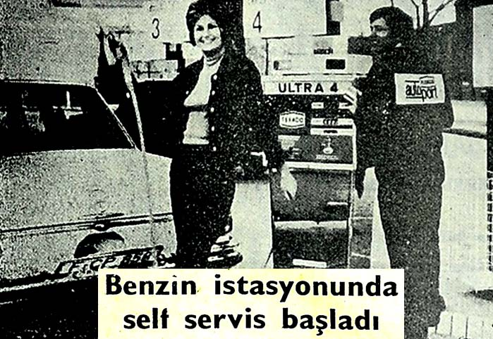 Benzin istasyonunda self servis başladı