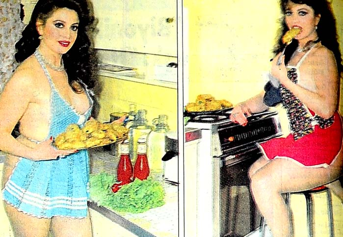 Mualla'nın mutfak kıyafeti