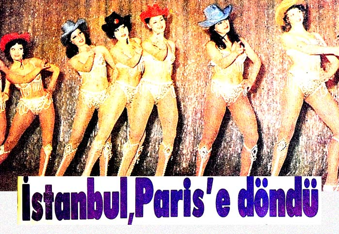 İstanbul Paris'e döndü