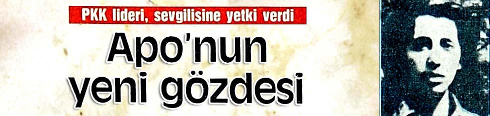 PKK lideri, sevgilisine yetki verdi