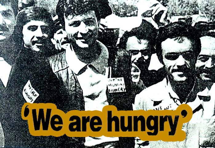 We are hungry