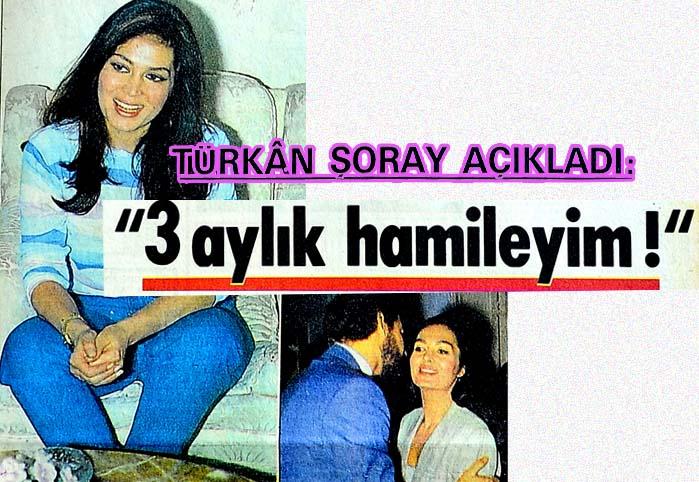 """Türkan Şoray açıkladı: """"3 aylık hamileyim!"""""""
