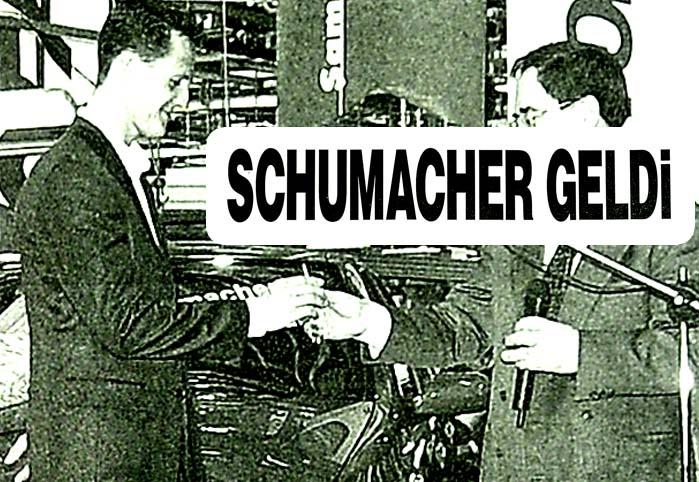 Schumacher geldi Palio Sporting tükendi