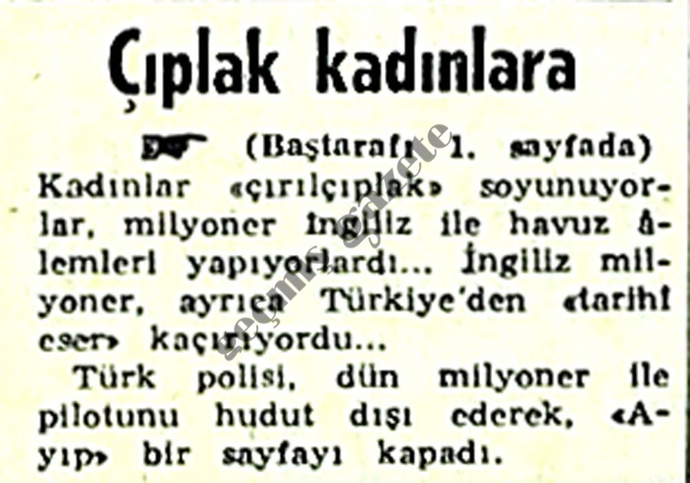 "Antalya'da ""2nci Prufumo"" Skandalı"