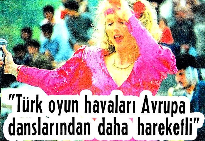 Türk oyun havaları Avrupa danslarından daha hareketli