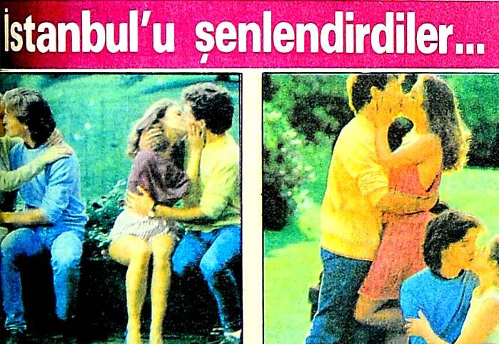 İstanbul'u şenlendirdiler...