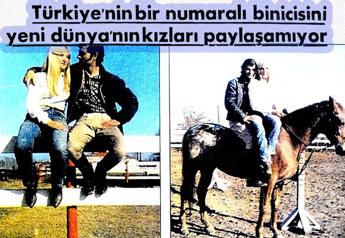 Türkiye'nin bir numaralı binicisini yeni dünyanın kızları paylaşamıyor