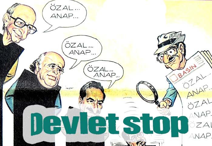 Devlet stop
