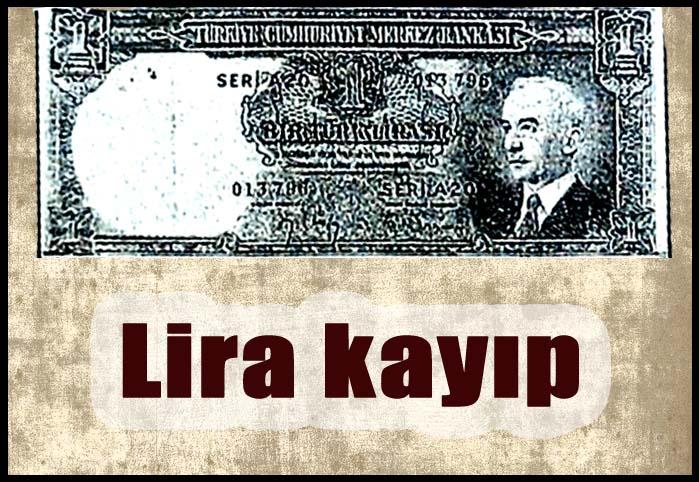 Lira kayıp