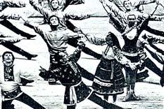 Soğuk iklimlerin sıcak dansları