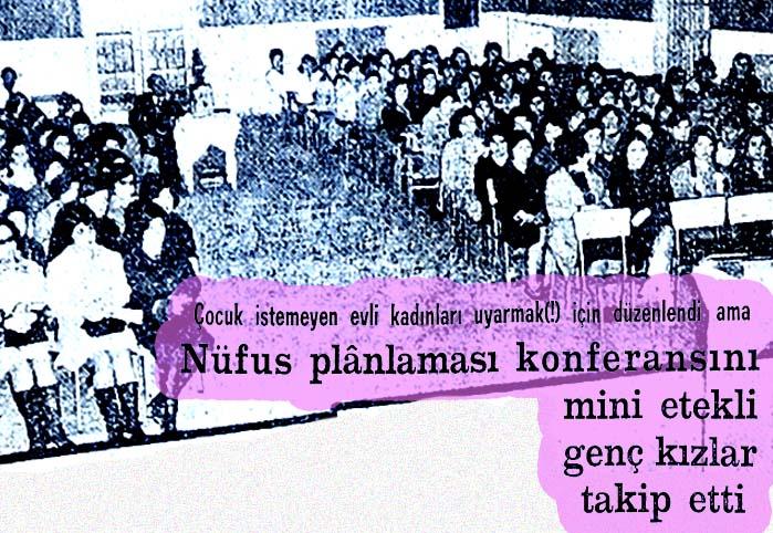 Nüfus planlaması konferansı