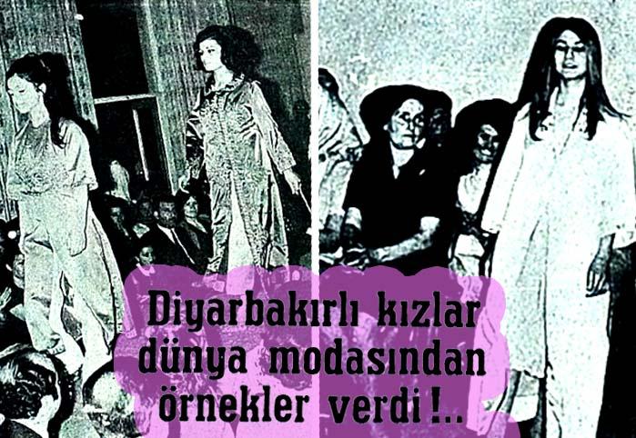 Diyarbakırlı kızlar moda dünyasından örnekler verdi !..