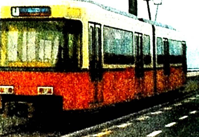 Yıldırım tramvay geliyor