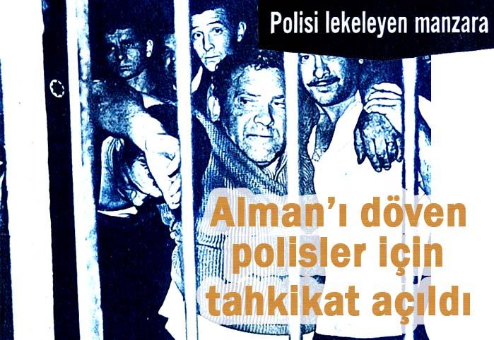 Polisi lekeleyen manzara