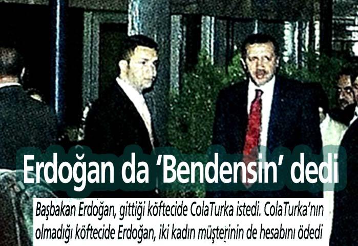 Erdoğan'da 'Bendensin' dedi