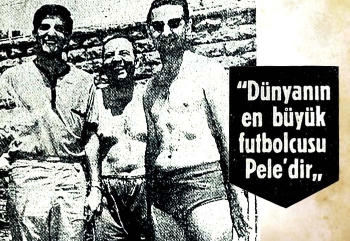 Dünyanın en büyük futbolcusu Pele'dir