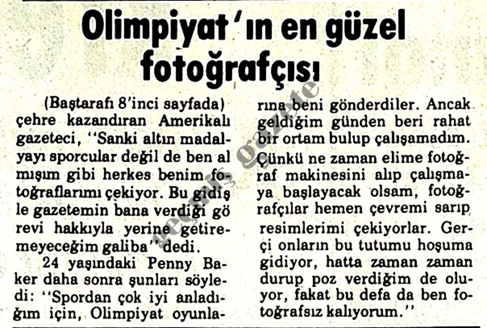 Olimpiyat'ın en güzel fotoğrafçısı