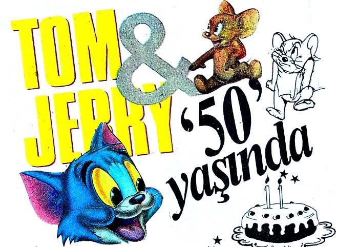 Tom & Jerry 50 yaşında