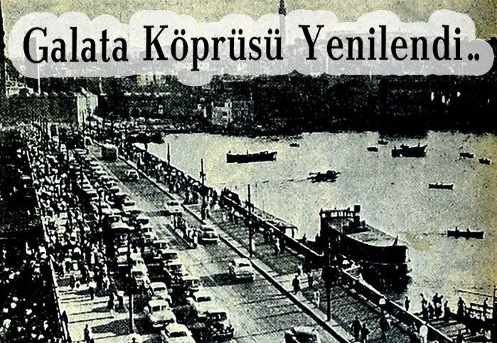 Galata Köprüsü Yenilendi