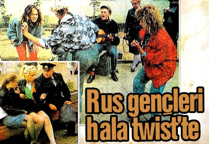 Rus gençleri hala twist'te