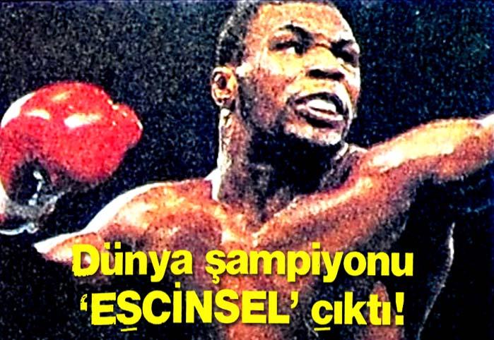 Dünya şampiyonu 'EŞCİNSEL' çıktı !