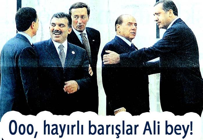 Ooo, hayırlı barışlar Ali bey!