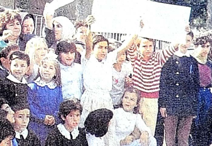 İlkokulda isyan