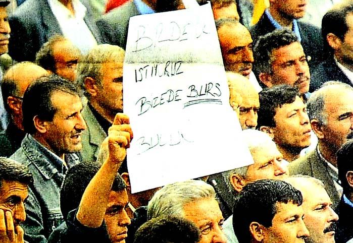 Bize de burs bul Tayyip abi