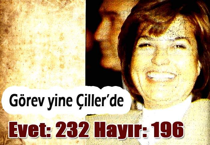 Evet: 232 Hayır: 196