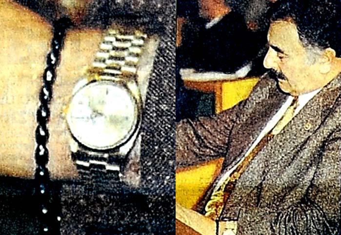 Milletvekilinin 3 milyarlık saati