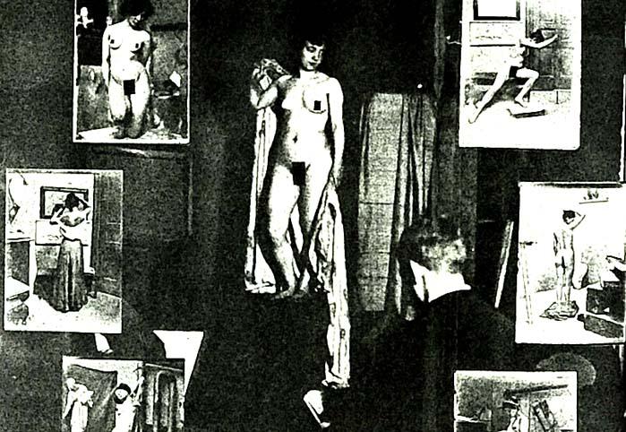Dünyanın ilk kadın çıplak fotoğrafçısı