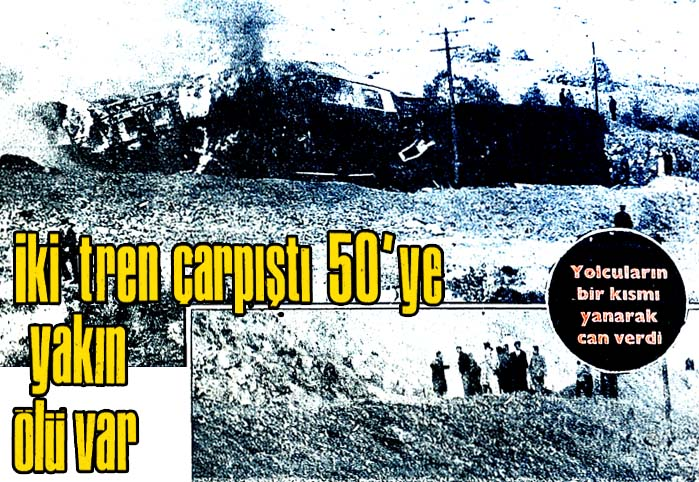 İki tren çarpıştı 50'ye yakın ölü var