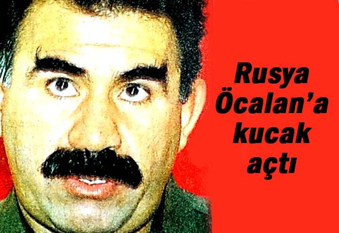 Rusya, Öcalan'a kucak açtı