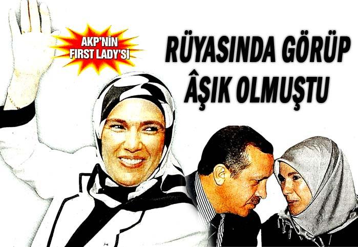 AKP'nin First Lady'si