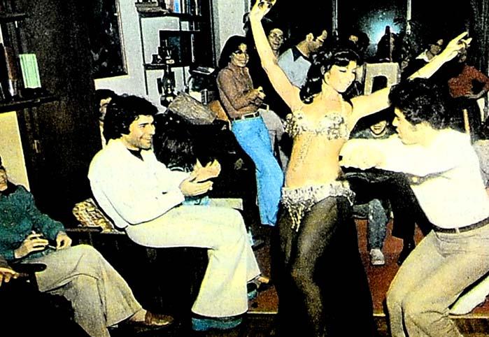 Dansöz oynatmak moda oldu