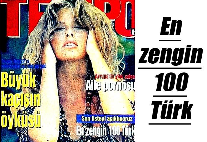 En zengin 100 Türk