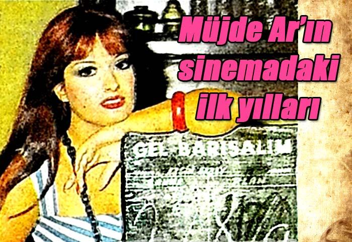 Müjde Ar'ın sinemadaki ilk yılları
