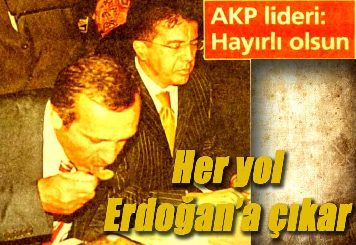 'Başbakan Erdoğan' planı devreye girdi