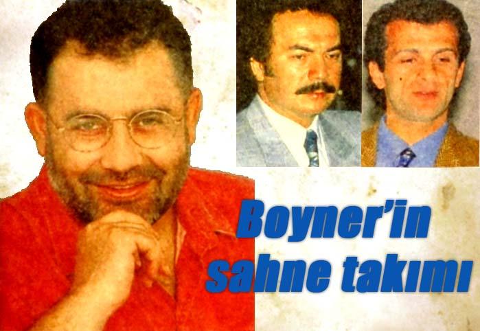 Boyner'in sahne takımı