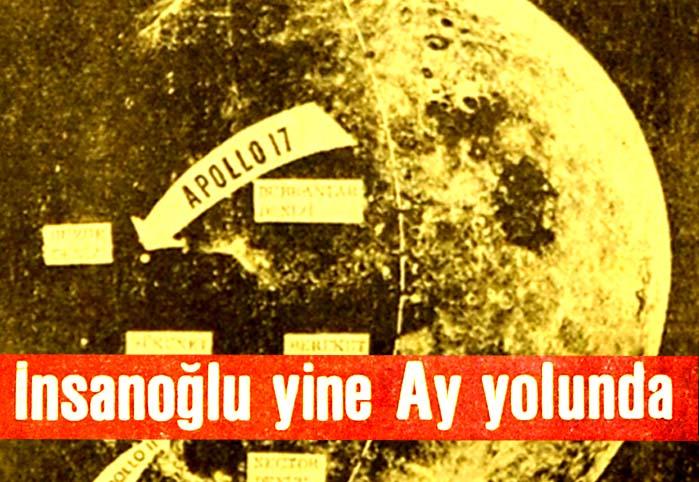 İnsanoğlu yine Ay yolunda