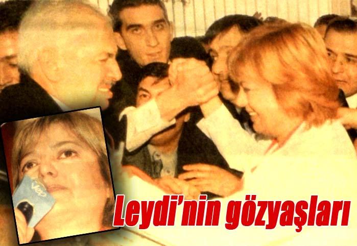 Leydi'nin gözyaşları
