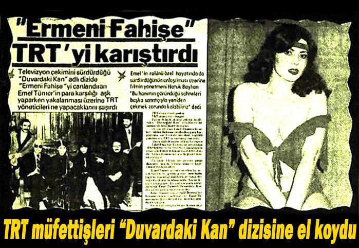 """""""Ermeni Fahişe"""" TRT'yi karıştırdı"""