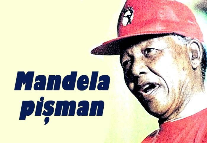 Mandela pişman