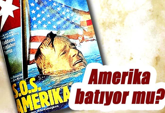 Amerika batıyor mu?