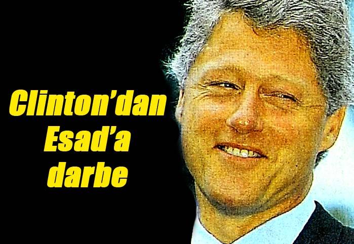 Clinton'dan Esad'a darbe